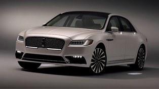 The path of Illumination: Lincoln reveals details for the all-new 2017 Continental