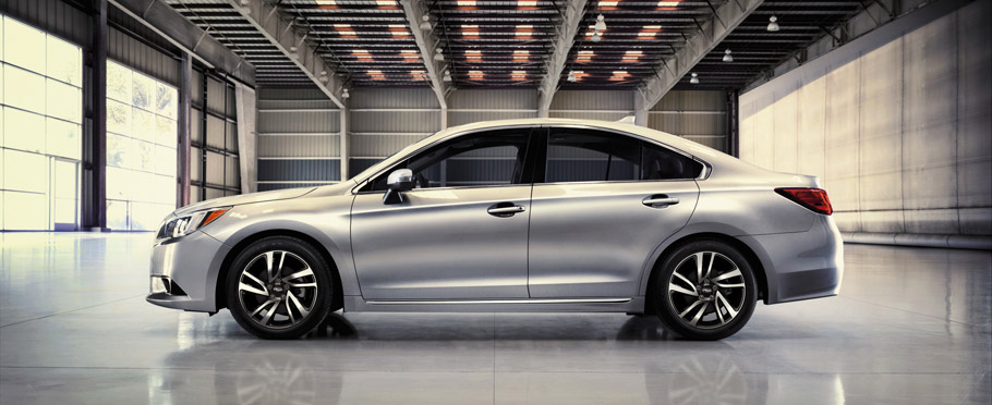 2017 Subaru Legacy Sport side view