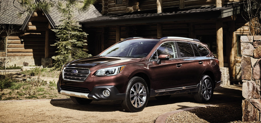 2017 Subaru Outback Touring front view