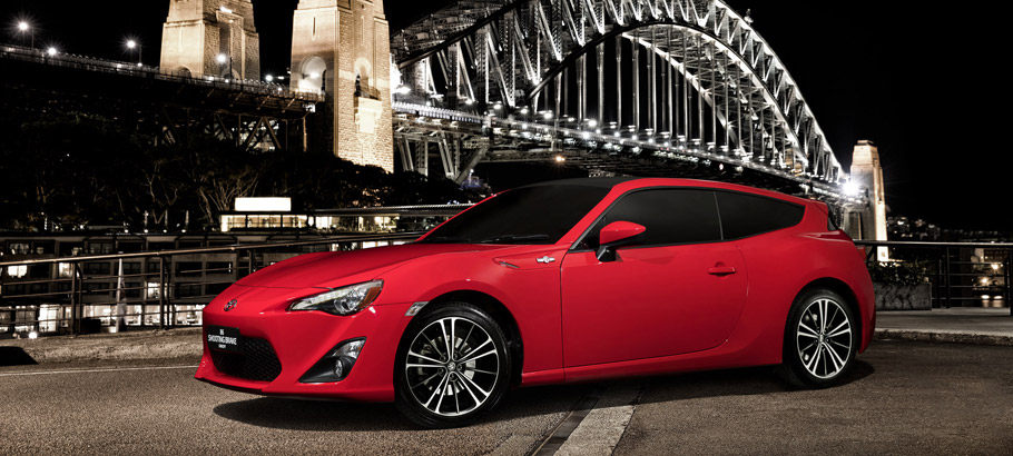 Toyota GT86 Shooting Brake Concept front view