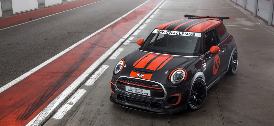 Bilstein Mini John Cooper Works F56 Takes Part In Mini Challenge