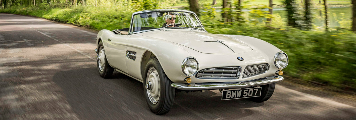 1957 BMW 507 front view