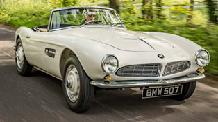 iconic 1957 bmw 507 makes exclusive comeback at goodwood