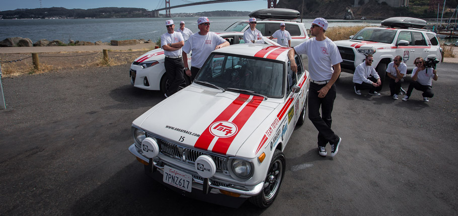 1970 Toyota Corolla at the Great Race