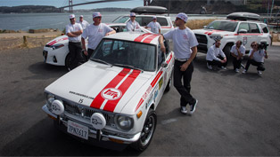 corolla celebrates its 50th anniversary with a rather special race! how cool is that?