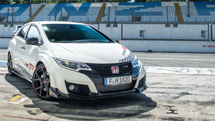 2015 honda civic type r proves itself worthy at europe's most famous race tracks