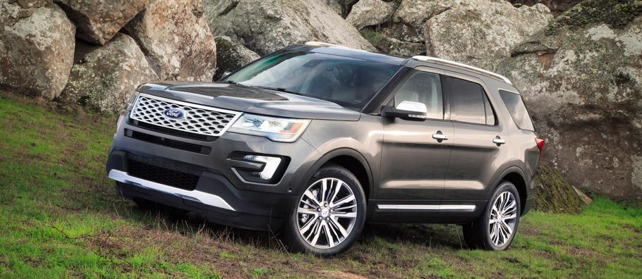 2015 Ford Explorer Platinum