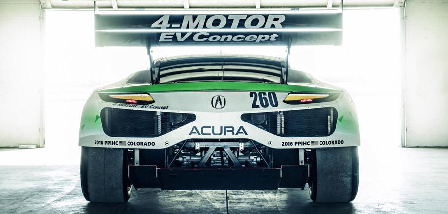 Acura NSX EV Concept rear view