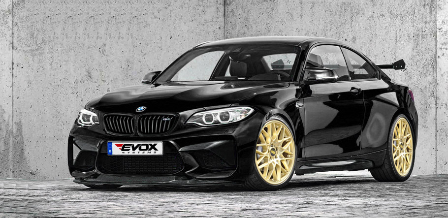 Alpha-N Performance BMW M2 front and side view