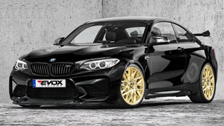 BMW M2 making it to 410HP and 630 Nm thanks to EVOX upgrade