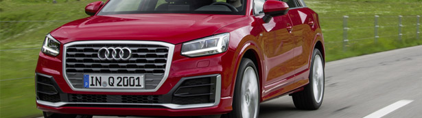Mean, confident and flexible: 2016 Audi Q2 reveals brand's badass side
