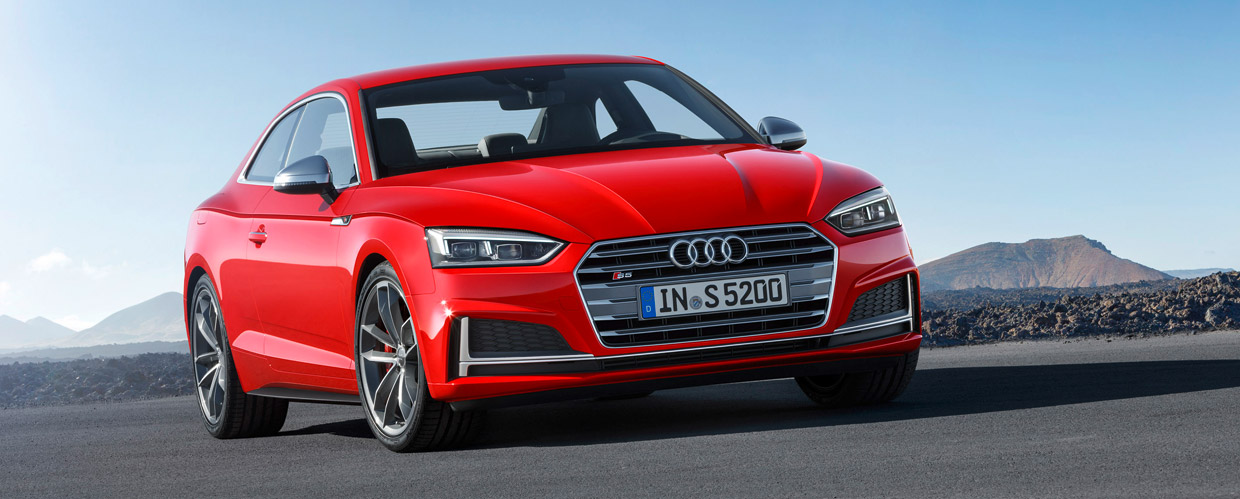 Audi S5 front view