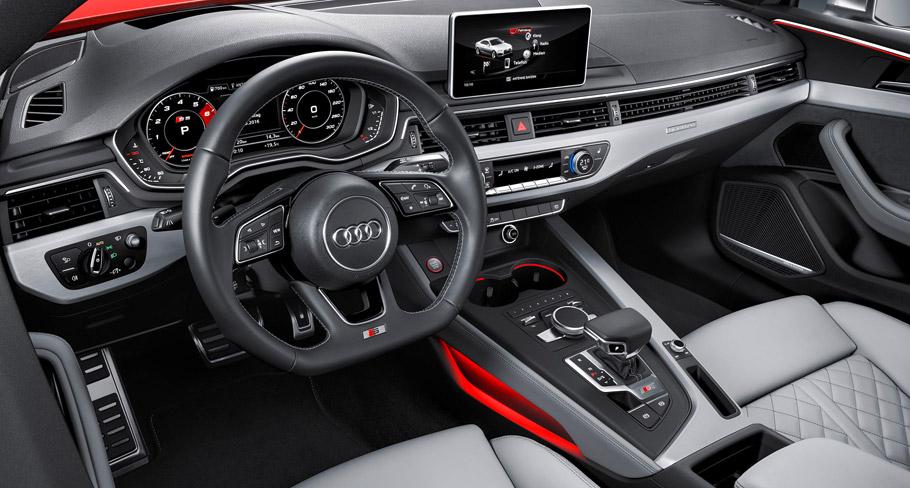 Audi S5 inteior