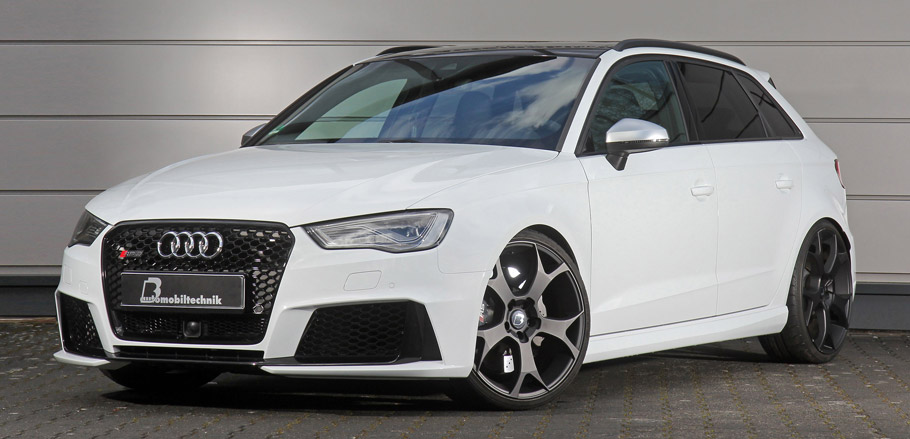B&B Audi RS3 8V front view