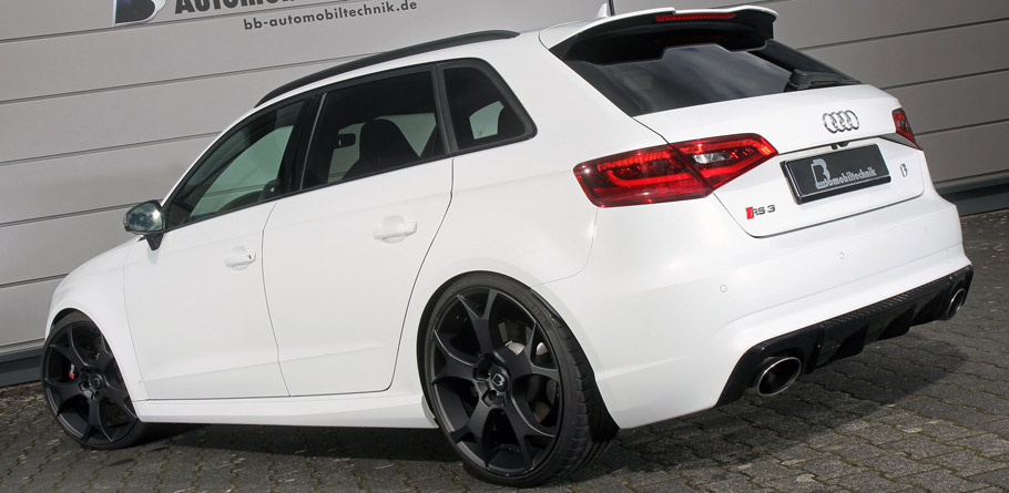 B&B Audi RS3 8V rear view