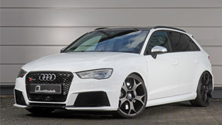 believe it or not but this audi rs3 can make it to 100 km/h in 3.3 seconds