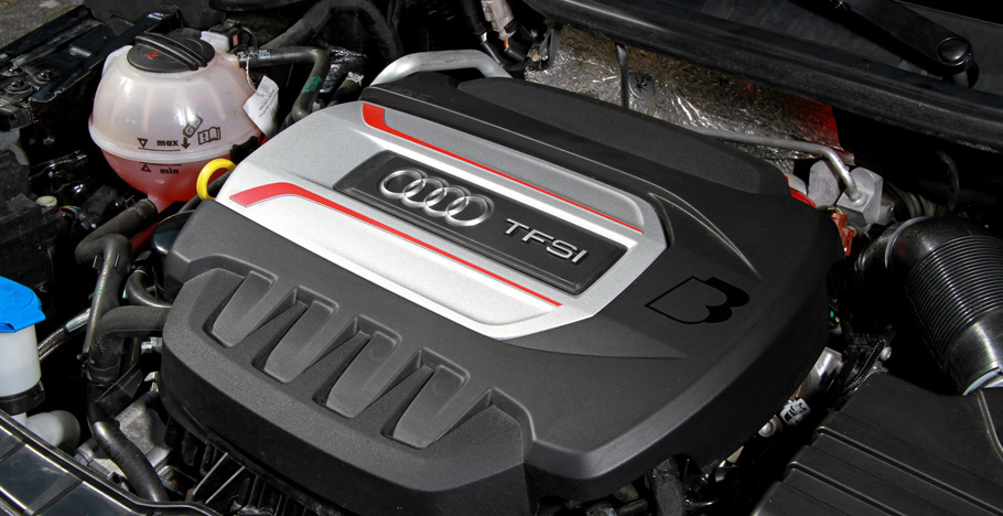 2016 B&B Automobiltechnik Audi S1 engine