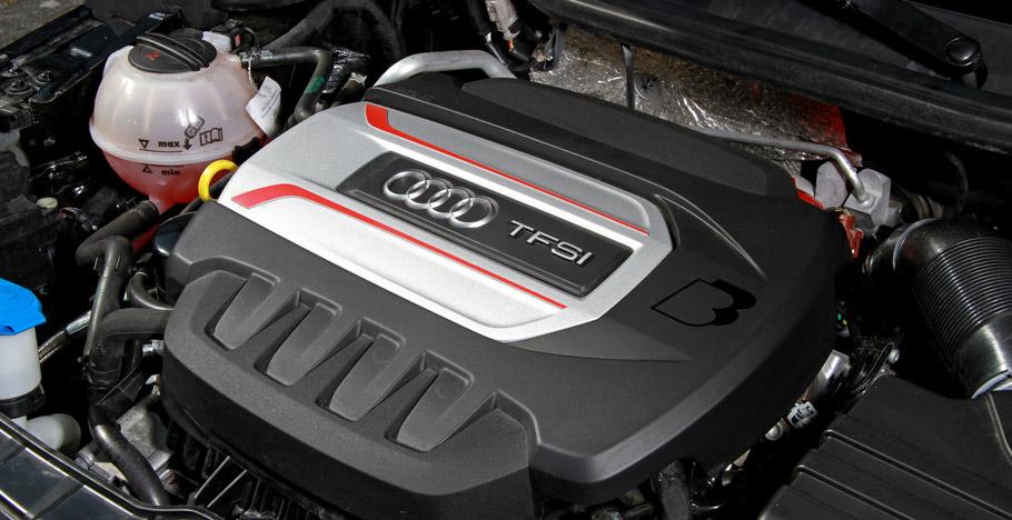 2016 B&B Automobiltechnik Audi S1 engine