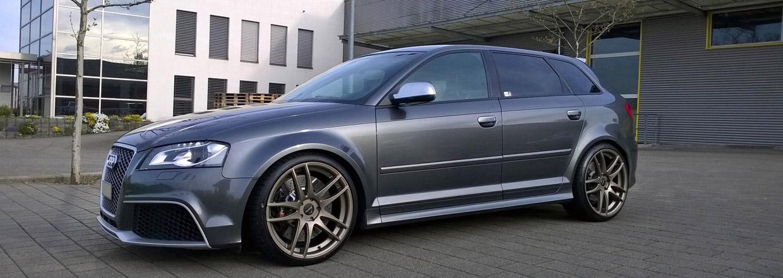 Barracuda Racing Audi RS3 side view