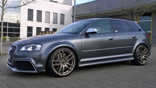 "Barracuda Racing Audi RS3 8P ""Shoxx"" with exclusivity and style"