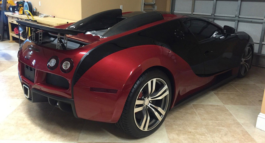 bugatti veyron replica can already be ordered for relatively small price. Black Bedroom Furniture Sets. Home Design Ideas