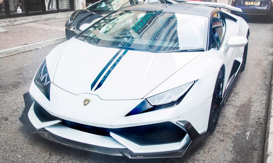 DMC Lamborghini Huracan LP610 Cairo Edition front view