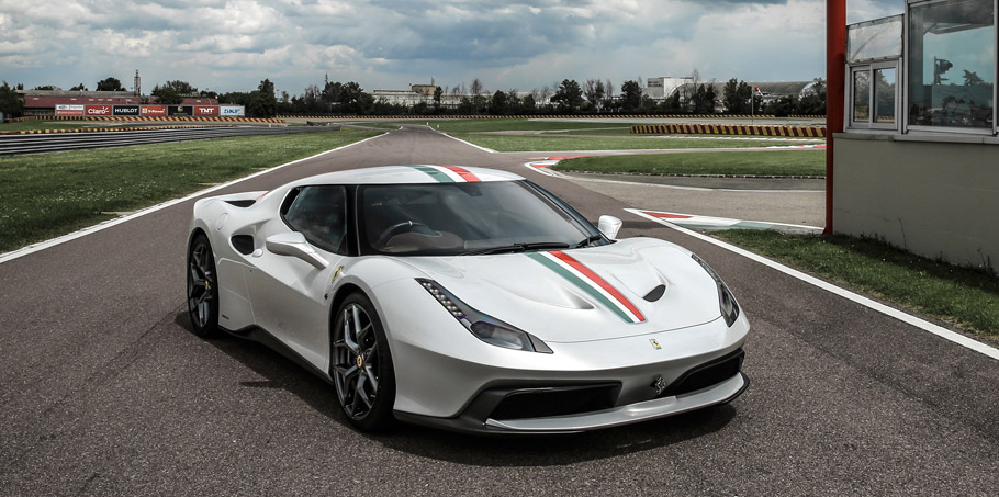 Ferrari 458 MM Speciale  front view