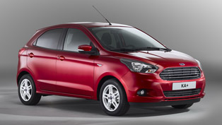 2016 Ford KA+ is about to hit the city streets. Here's all you need to know!