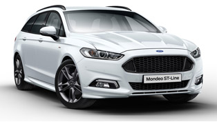Mondeo ST-Line: sporty, aggressive and confident. We like it.