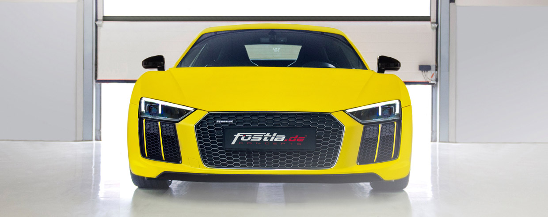 Fostla.de Audi R8 V10 Plus front view