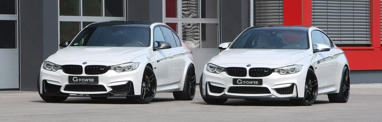 G-Power BMW M3 F80 and M4 F82 front view