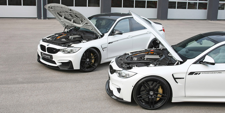 G-Power BMW M3 F80 and M4 F82 engine