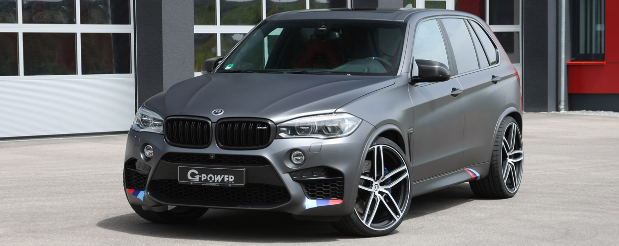 G Power BMW X5 M F85 Front View