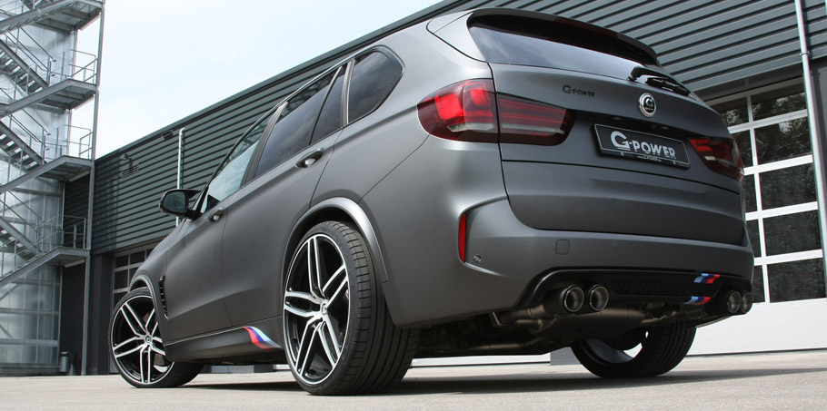 G-Power BMW X5 M F85  rear view