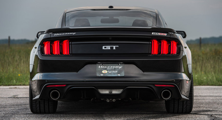 Hennessey Ford Mustang HPE800 rear view