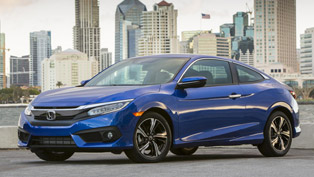 2016 honda civic coupe takes home another award! details here!