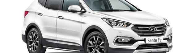Hyundai - Team Wiggins partnership results with creating a limited run of Santa Fe vehicles