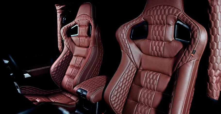 Kahn Jeep Wrangler Sahara CJ300 Black Hawk Edition interior