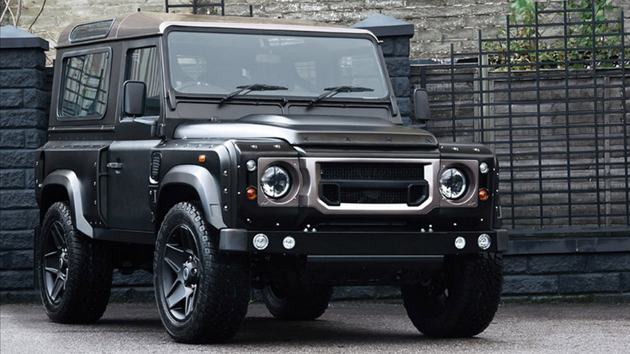 Kahn Land Rover Defender SW 90 Auto CWT front view