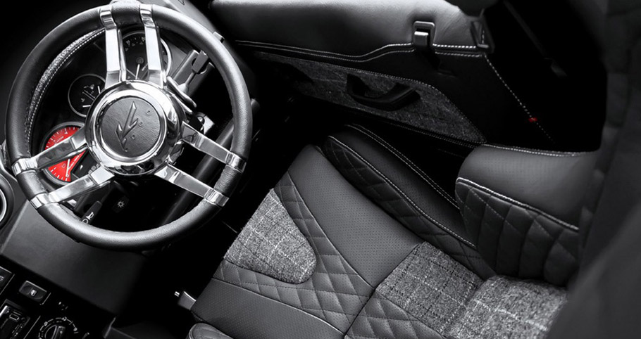 Kahn Land Rover Defender SW 90 Auto CWT interior