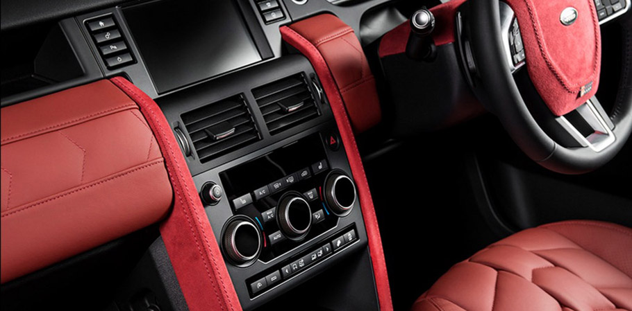 Kahn Land Rover Discovery Sport Black Label Edition interior
