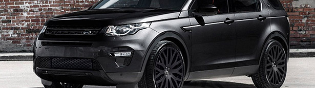 Every gentleman should have Kahn's Land Rover Discovery Sport Black Label Edition and here is why