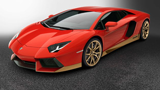 Lamborghini showcases a special model, created for a special event. Check it out!