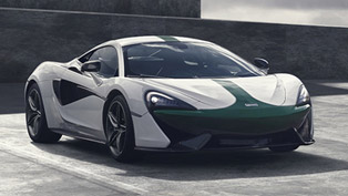 McLaren 570S Coupe M2B Edition is Formula 1 inspired anniversary car