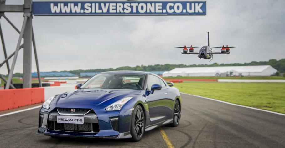2016 Nissan GT-R Drone