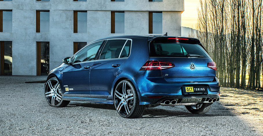 O.CT Tuning Volkswagen Golf VII R rear view