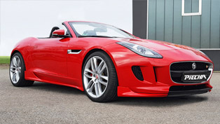 jaguar and piecha team up for the release of very special f-type cabrio
