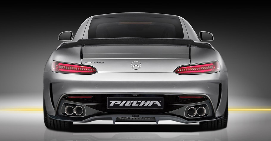 Piecha Mercedes-AMG GT S Renderings rear view
