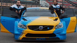 Polestar Cyan Racing team showcases a neat exclusive upgrade to a special Volvo model