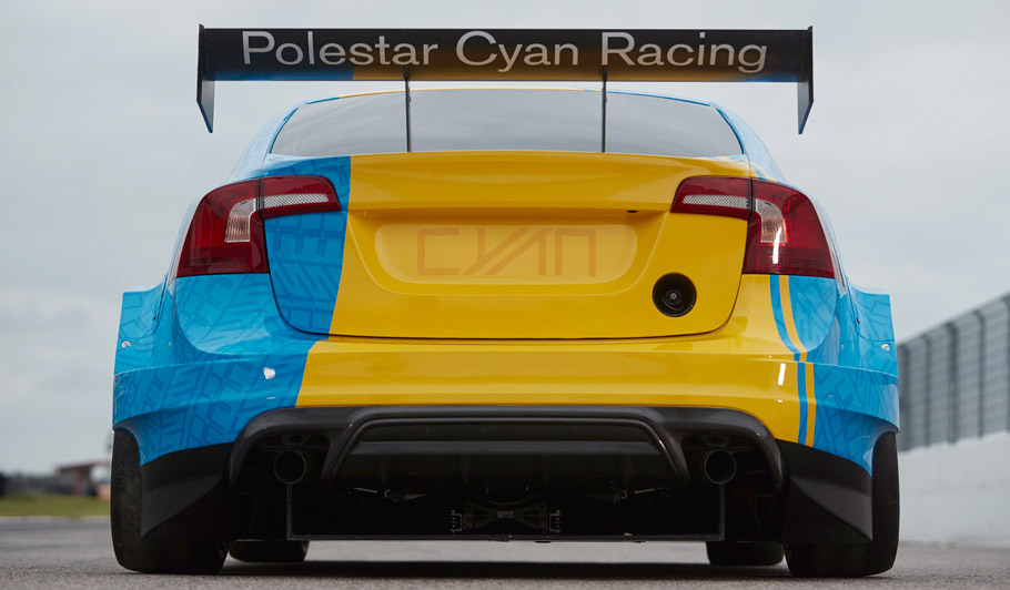2016 Volvo S60 Polestar Art Car WTCC by Bernadotte & Kylberg